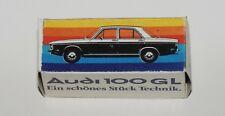 Reprobox Schuco 1:66 Audi 100 GL - Werbebox für Audi