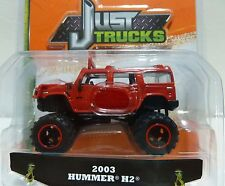 "Jada Just Trucks ""2003 HUMMER H2"" 1:64 Diecast Truck"