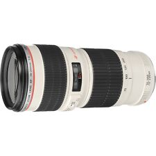 Canon EF Camera Telephoto Zoom Lens 70-200mm f/4 L USM Ultrasonic White 2578A009