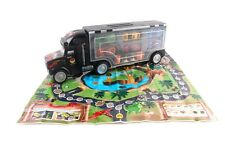 6 Car Transporter with Racing Game Map Children's Toy