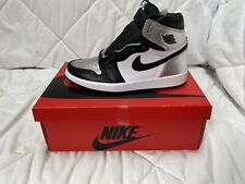 Jordan 1 Retro High Silver Toe US 6.5 EU 37.5