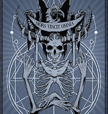 Mors Vincit Omnia Playing Cards by Any Means Necessary