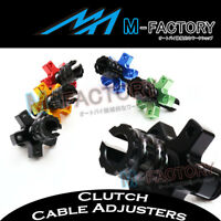 For Kawasaki Ninja ZX-9R (ZX900) 1998-2003 Anodized Clutch Cable Adjuster