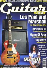 SLASH / LES PAUL & MARSHALL / GANG OF FOUR / SQUEEZE	Guitar Magazine	Feb	2005