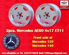 2 Mercedes W124 129 201 203 208 210 AMG Aero style Felgen 8x17 E11 cerchi wheels