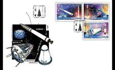 2008  ROMANIA - SG 6869/6872 - SPACE EXPLORATION FDC
