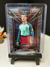 2017-18 Panini Select Soccer CRISTIANO RONALDO Sparks Jersey Material   Portugal