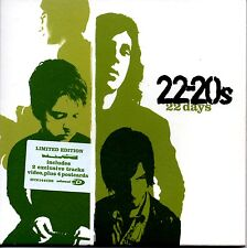 22-20s - 22 DAYS - CARD COVER VIDEO ENHANCED CD SINGLE + POSTCARDS -  MINT