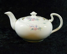AYNSLEY BONE CHINA ENGLAND LITTLE SWEETHEART TEAPOT w/ PINK FLOWERS FLORAL