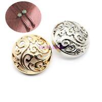 10Pcs Metal Shank Button Coat Windbreaker Buttons Fastener Sewing Supplies 25mm