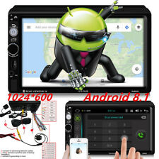 7Inch Touch Screen Display Android 8.1Car Stereo Audio MP5 Player GPS Functional