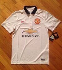 Manchester United 14/15 Away Model NIKE Short Sleeve Jersey Sz S 611032-106 $90