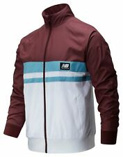 New Balance Men's NB Athletics Archive Run Jacket Red