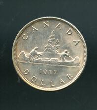 1937 Canada Silver Dollar AU or better DCC07