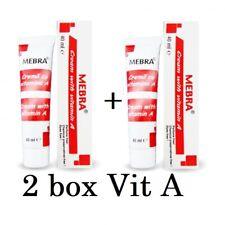 2 x Vitamin A cream 40 g Psoriasis Dry Skin Paraben Free Preservative Free