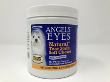 New listing Angels' Eyes Natural Tear Stain Chews Chicken Flavor 120 Soft Chews 01/2022