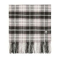 BRAND NEW TIMBERLAND MENS PLAID SCARF IN GREY IN GIFT BOX  S.NO 0A1EVT J55