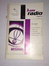 Ham Radio Magazine Vhf Fm Colinear Stray May 1971 121816rh