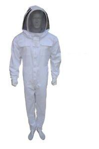 Poly Cotton Bee Suit White Beekeeping Suit Beekeeper Suit Fencing Veil