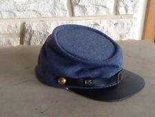 Confederate Cadet Gray Kepi, Civil War Hat, US Made, New