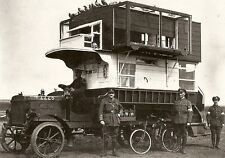 British Army Pigeon Coop Bus Loft World War 1 7x5 Inch Reprint Photo