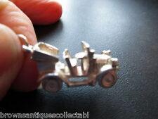 VINTAGE Silver Charm grande vecchio UK Sterling Antico Classico Pendente Charm Radiocom. AUTO