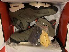 Nike x Travis Scott Jordan 6 Olive CN1084-200 UK8.5 US9.5 EU43