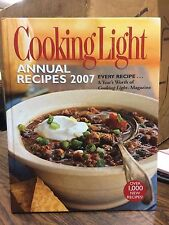 Cooking Light Annual Recipes 2007:EVERY RECIPE...A Year's Worth of Cooking - J45