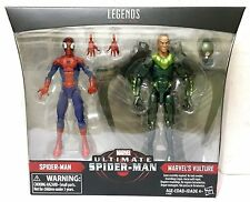 "MARVEL LEGENDS ULTIMATE 6"" SPIDER MAN & MARVEL'S VULTURE 2 PACK EXCLUSIVE FIGURE"