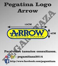 Pegatina Arrow Sticker Vinilo Adhesivo para coches, motos...