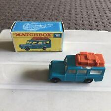 Matchbox Lesney 12 Safari Land Rover F Box