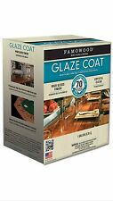 FAMOWOOD GLAZE COAT CLEAR EPOXY GALLON KIT Famo Wood clear high gloss epoxy