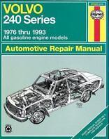 Haynes Auto Repair Manual for 1976-1993 Volvo 240 Series #97020 - Ships Fast!