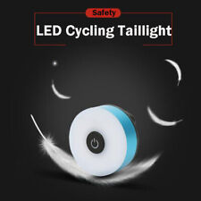 Safety Mountain Bike LED Cycling Rear Taillight USB Charging Light Waterproof