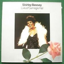 Shirley Bassey Live Carnegie Hall Absolutely Excellent Condition LP x 2