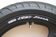 FZ6 Fazer Wheel rim stickers decals - Many Colours s2 s