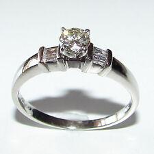 .40ct Round Brillant Diamond Platinum Wedding Ring