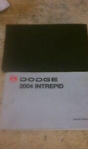 04 DODGE INTREPID OWNERS MANUAL / HANDBOOK  PACKAGE