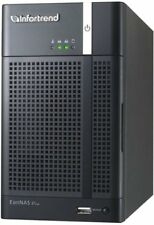Infortrend EonNAS Pro 200 6TB 2 Bay NAS Intel Atom 525 Duo-Core 1.8GHz 4GB Mem