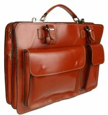 Unbranded Zip Leather Outer Satchels Handbags