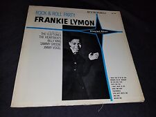 Rock And Roll Party w/FRANKIE LYMON LP Comp THE CLEFTONES Guest Star