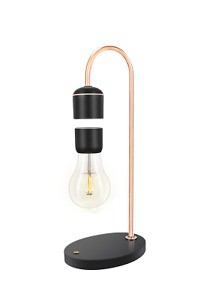 Magnetic Levitating Light Floating Bulb Lamp Wireless Charging For Unique Gifts