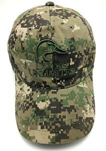 DUCKS UNLIMITED hat camouflage adjustable cap - 100% cotton