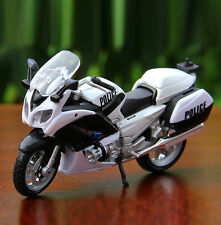 Maisto 1:18 Scale YAMAHA FJR 1300A Police Racing Motocycle Diecast Model Gift To