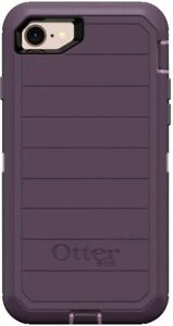 OtterBox Defender Rugged Case Only iPhone SE 2020, 8, 7 - Nebula - Easy Open Box