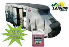 Leisure Depot Motorhome Cover up to 5.7M with Fenwicks Motorhome Cleaner 1 Litre