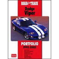 ROAD & TRACK DODGE VIPER PORTFOLIO 1992-2002 BOOK LIBRO