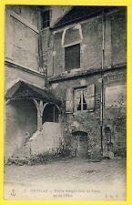 cpa 95 - GROSLAY en 1906 (Val d'Oise) Vieille MAISON Rue de PARIS Gilberte MAUGÉ