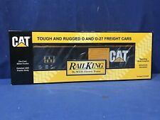 Rail King MTH Caterpillar Cat 50' Modern Box Car 30-74056 FREE SHIPPING