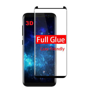 For Samsung Note 8 S7 Full Glue Curved Tempered Glass Screen Protector